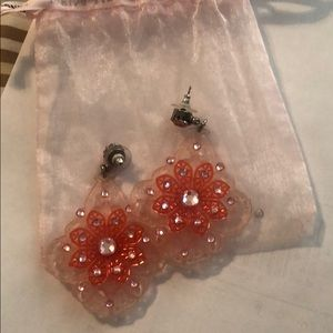 Pink Tarina Tarantino earrings